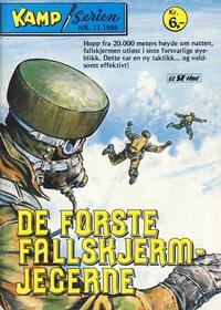 Cover Thumbnail for Kamp-serien (Serieforlaget / Se-Bladene / Stabenfeldt, 1964 series) #13/1986