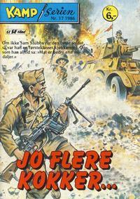 Cover Thumbnail for Kamp-serien (Serieforlaget / Se-Bladene / Stabenfeldt, 1964 series) #17/1986