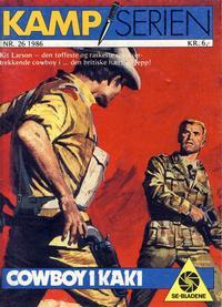 Cover Thumbnail for Kamp-serien (Serieforlaget / Se-Bladene / Stabenfeldt, 1964 series) #26/1986