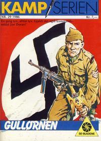 Cover Thumbnail for Kamp-serien (Serieforlaget / Se-Bladene / Stabenfeldt, 1964 series) #29/1986