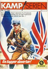 Cover Thumbnail for Kamp-serien (Serieforlaget / Se-Bladene / Stabenfeldt, 1964 series) #33/1986