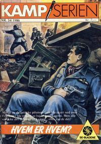 Cover Thumbnail for Kamp-serien (Serieforlaget / Se-Bladene / Stabenfeldt, 1964 series) #34/1986
