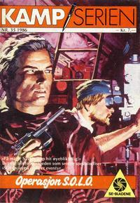 Cover Thumbnail for Kamp-serien (Serieforlaget / Se-Bladene / Stabenfeldt, 1964 series) #35/1986