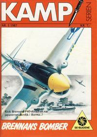 Cover Thumbnail for Kamp-serien (Serieforlaget / Se-Bladene / Stabenfeldt, 1964 series) #5/1987