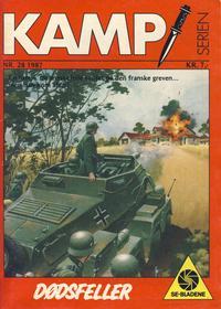 Cover Thumbnail for Kamp-serien (Serieforlaget / Se-Bladene / Stabenfeldt, 1964 series) #28/1987