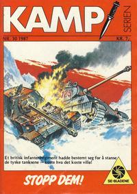 Cover Thumbnail for Kamp-serien (Serieforlaget / Se-Bladene / Stabenfeldt, 1964 series) #30/1987