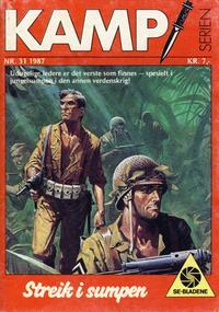 Cover Thumbnail for Kamp-serien (Serieforlaget / Se-Bladene / Stabenfeldt, 1964 series) #31/1987