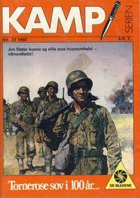 Cover Thumbnail for Kamp-serien (Serieforlaget / Se-Bladene / Stabenfeldt, 1964 series) #37/1987