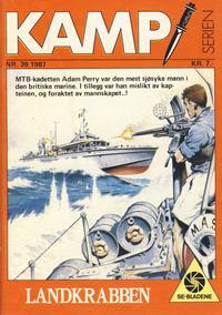Cover Thumbnail for Kamp-serien (Serieforlaget / Se-Bladene / Stabenfeldt, 1964 series) #39/1987