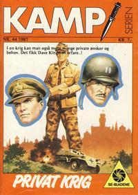 Cover Thumbnail for Kamp-serien (Serieforlaget / Se-Bladene / Stabenfeldt, 1964 series) #44/1987