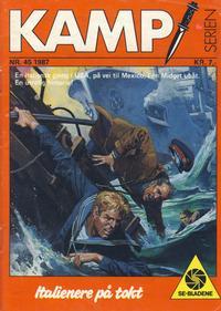 Cover Thumbnail for Kamp-serien (Serieforlaget / Se-Bladene / Stabenfeldt, 1964 series) #45/1987