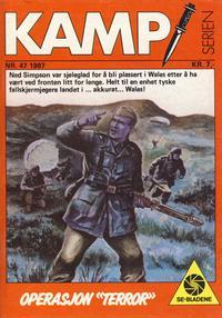 Cover Thumbnail for Kamp-serien (Serieforlaget / Se-Bladene / Stabenfeldt, 1964 series) #47/1987
