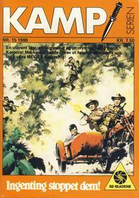 Cover Thumbnail for Kamp-serien (Serieforlaget / Se-Bladene / Stabenfeldt, 1964 series) #15/1988