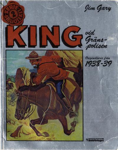 Cover for Seriebiblioteket (Hemmets Journal, 1976 series) #2 - King vid gränspolisen