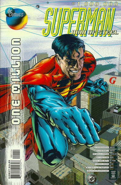 Cover for Superman: The Man of Steel (DC, 1991 series) #1,000,000