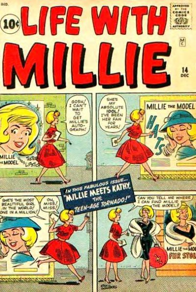 Cover for Life with Millie (Marvel, 1960 series) #14