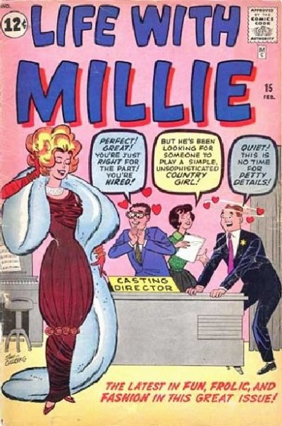Cover for Life with Millie (Marvel, 1960 series) #15