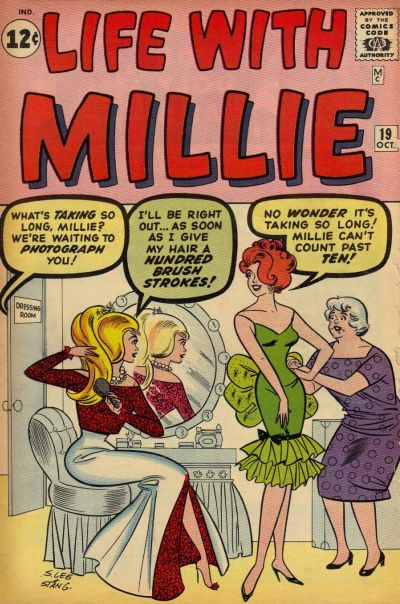 Cover for Life with Millie (Marvel, 1960 series) #19