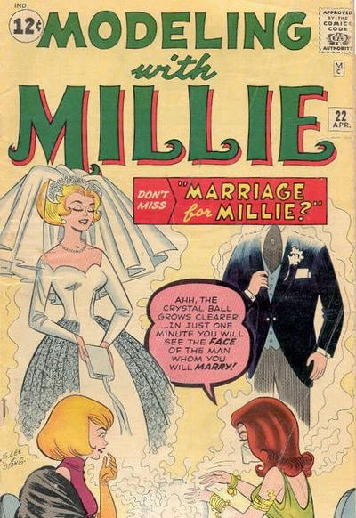Cover for Modeling with Millie (Marvel, 1963 series) #22