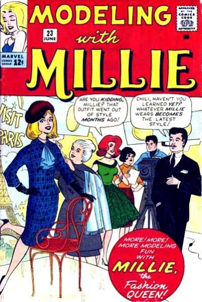 Cover for Modeling with Millie (Marvel, 1963 series) #23