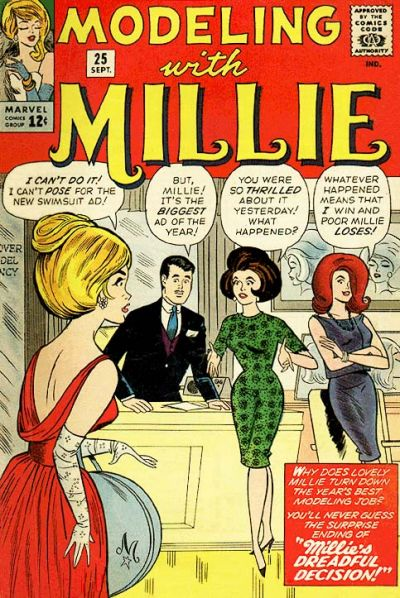Cover for Modeling with Millie (Marvel, 1963 series) #25
