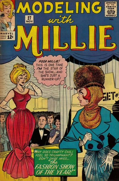 Cover for Modeling with Millie (Marvel, 1963 series) #27
