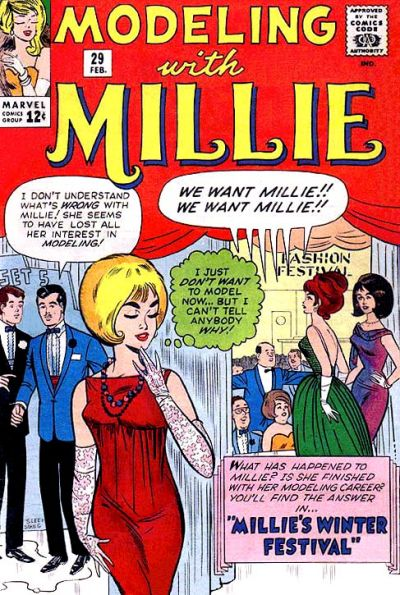 Cover for Modeling with Millie (Marvel, 1963 series) #29