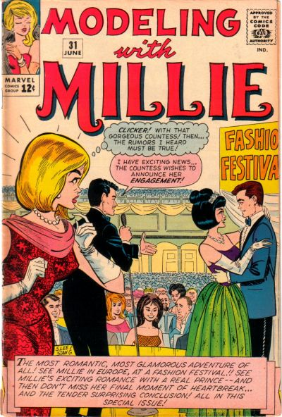 Cover for Modeling with Millie (Marvel, 1963 series) #31