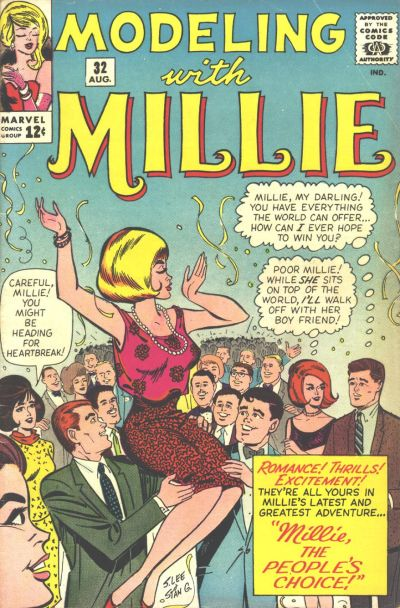 Cover for Modeling with Millie (Marvel, 1963 series) #32