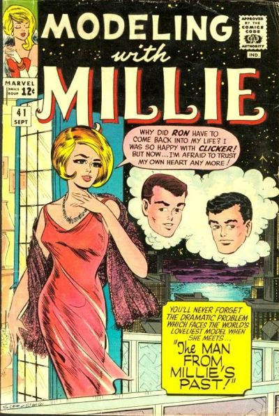Cover for Modeling with Millie (Marvel, 1963 series) #41