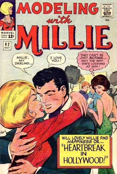 Cover for Modeling with Millie (Marvel, 1963 series) #42