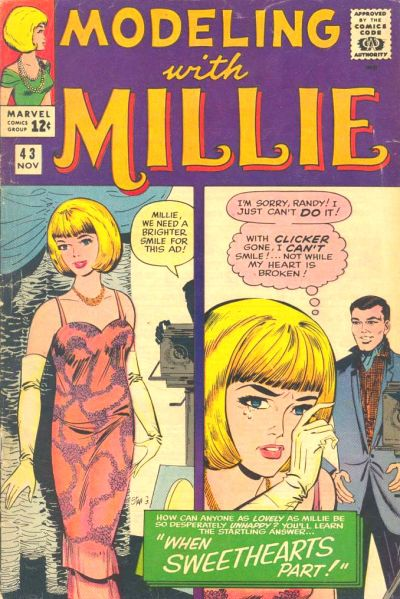 Cover for Modeling with Millie (Marvel, 1963 series) #43
