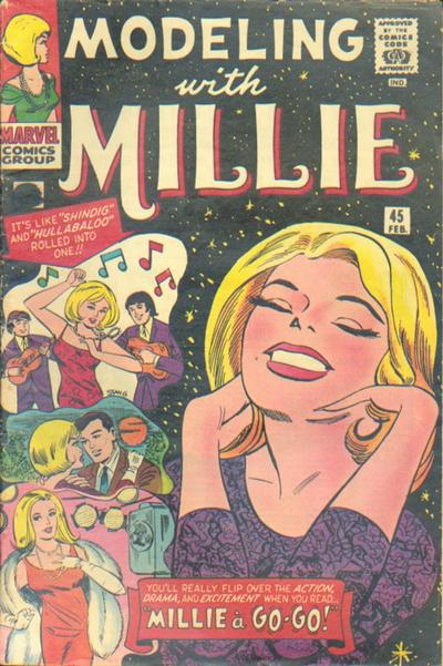 Cover for Modeling with Millie (Marvel, 1963 series) #45