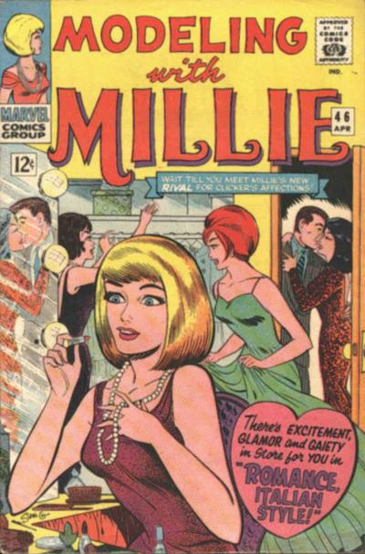 Cover for Modeling with Millie (Marvel, 1963 series) #46