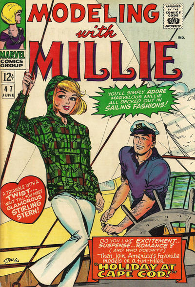 Cover for Modeling with Millie (Marvel, 1963 series) #47