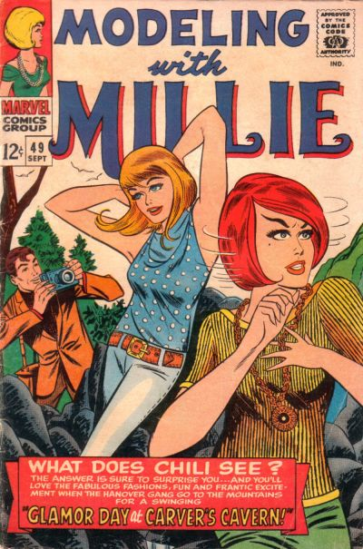 Cover for Modeling with Millie (Marvel, 1963 series) #49