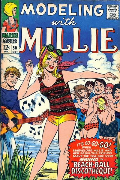 Cover for Modeling with Millie (Marvel, 1963 series) #50