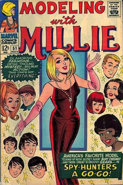 Cover for Modeling with Millie (Marvel, 1963 series) #51
