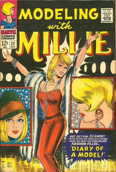 Cover for Modeling with Millie (Marvel, 1963 series) #52