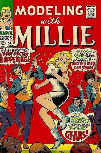 Cover for Modeling with Millie (Marvel, 1963 series) #54
