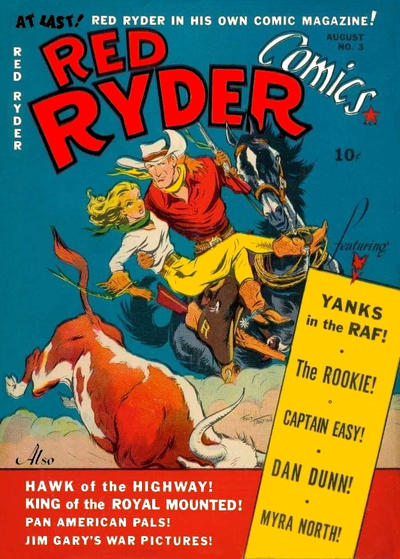 Cover for Red Ryder Comics (Hawley, 1940 series) #3