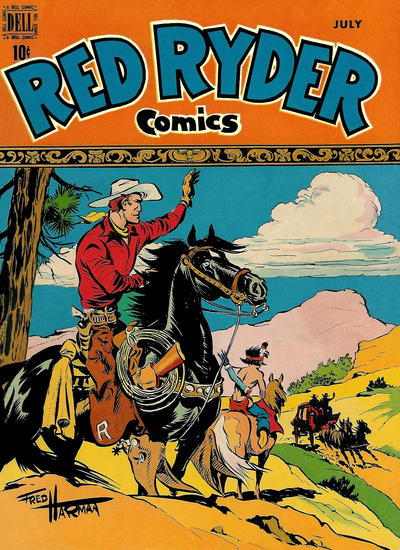 Cover for Red Ryder Comics (Dell, 1942 series) #72