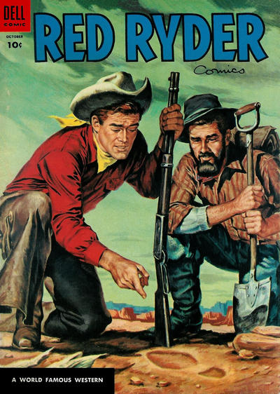 Cover for Red Ryder Comics (Dell, 1942 series) #135