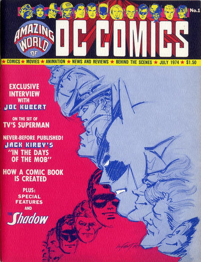 Cover for The Amazing World of DC Comics (DC, 1974 series) #1