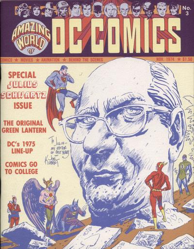 Cover for The Amazing World of DC Comics (DC, 1974 series) #3