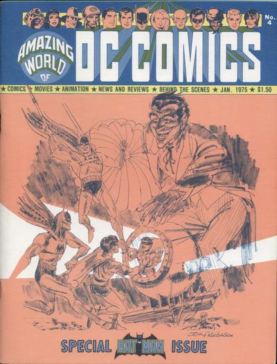 Cover for The Amazing World of DC Comics (DC, 1974 series) #4