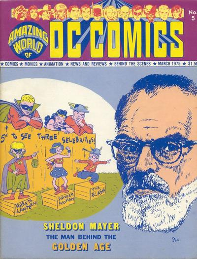 Cover for The Amazing World of DC Comics (DC, 1974 series) #5