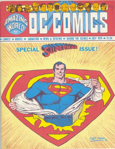 Cover for The Amazing World of DC Comics (DC, 1974 series) #7