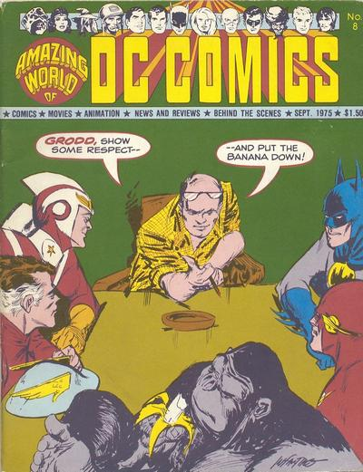 Cover for The Amazing World of DC Comics (DC, 1974 series) #8