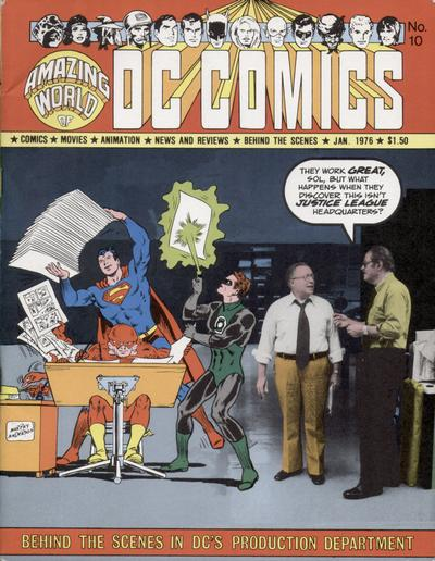 Cover for The Amazing World of DC Comics (DC, 1974 series) #10